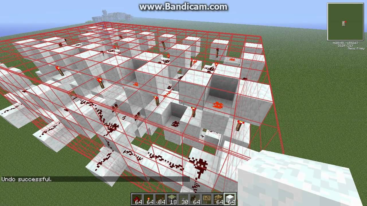 Building a minecraft calculator tutorial pt9 bcd for Build a house calculator free