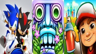 Sonic Dash + Temple Run 2 + Subway Surfers Gameplay PC HD