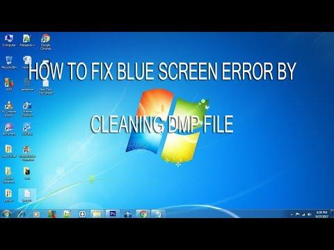 BLUE SCREEN ERROR FIX ON WINDOWS 7