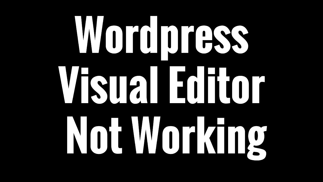 how to get editor in wordpress
