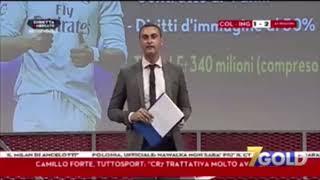 Annuncio Cristiano Ronaldo alla Juventus diretta tv