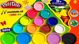 Play Doh Mountain of Colours Playset Hasbro Toys Playdough Rainbow Shapes and Molds