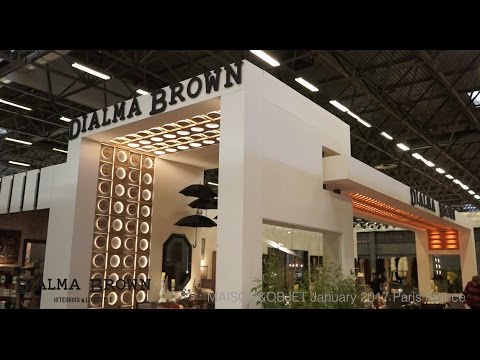Video stand DIALMA BROWN MAISON&OBJET January 2017 Paris iStandVideo ...