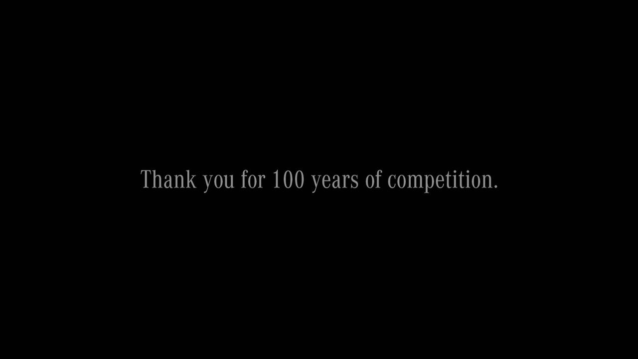 Mercedes Benz congratulates BMW on 100th anniversary
