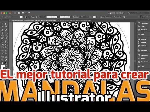 El mejor tutorial para crear mandalas en Illustrator