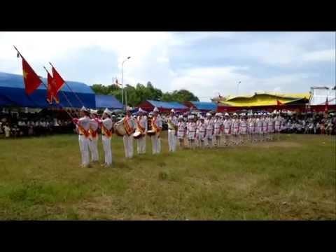 Thiếu nhi 2013-Duyệt nghi thức đội 8, Hoằng Đồng, HH, TH