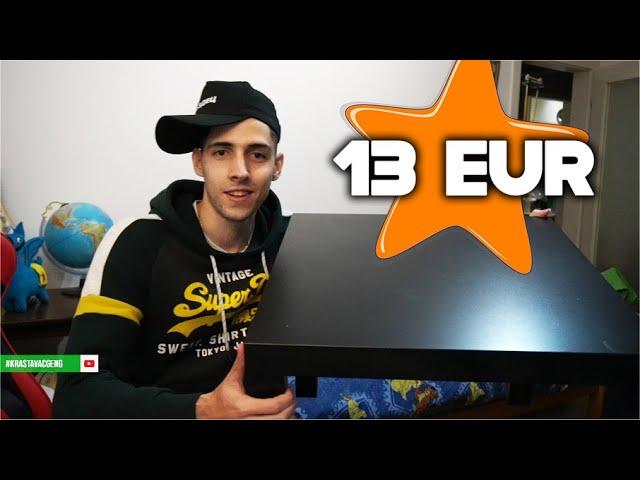 HOW TO MAKE A STOL FOR 9$ - KAKO NAPRAVITI STOL ZA 13€ -  Zobrina Radionica
