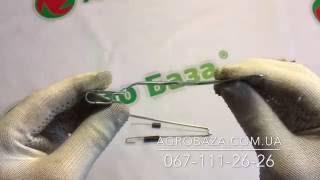 Рычаг привода дроссельной заслонки для мотоблока с двигателем 168F