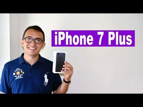 Comprando iPhone 7 Plus na Apple de Washington