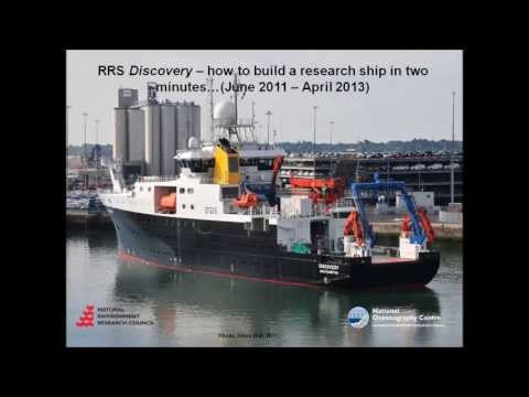 RRS Discovery construction time lapse