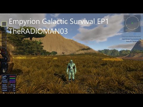 "Empyrion Galactic Survival EP1 ""We Begin"""