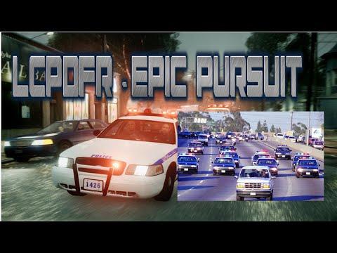 GTA IV LCPDFR 1.0d Part #8 - Epic Pursuits!!!