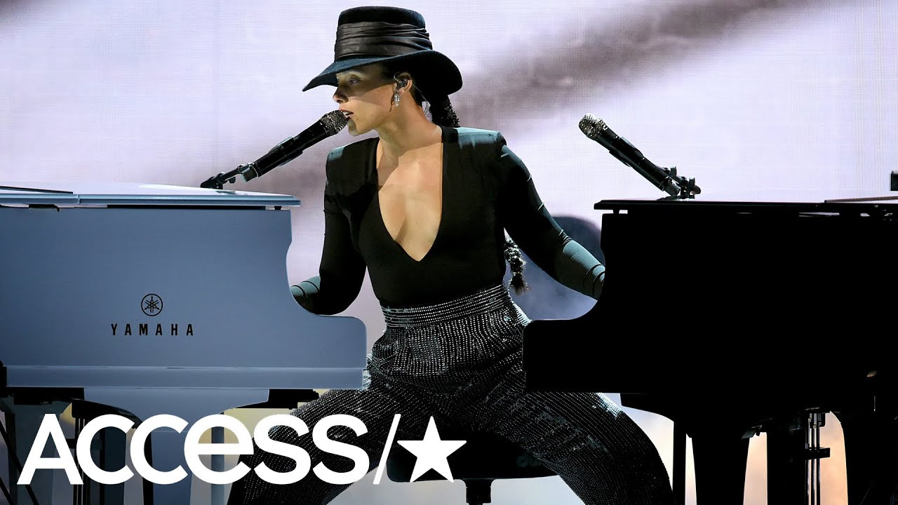 Alicia Keys Plays 2 Pianos At Once In Jaw-Dropping Grammys Performance | Access