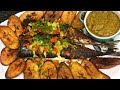 Roast fish and plantain | Onyi Emy's Kitchen