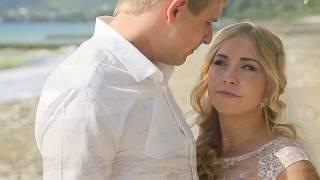Свадебное видео на море, свадебная церемония в Абхазии для двоих