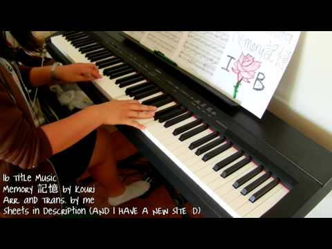 Ib Title Music - Memory 記憶 (piano by ear w/ sheets)