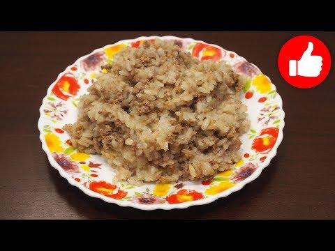 Рисовая каша в мультиварке с мясом