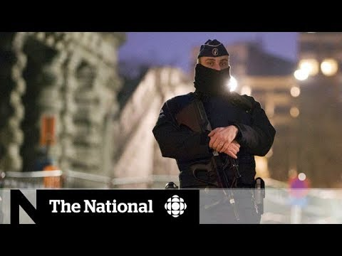 Salah Abdeslam, Paris attack suspect, quiet in Brussels shootout trial