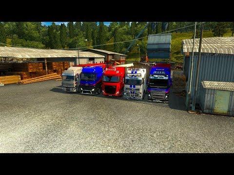 28/IX Вечерний Конвой по Euro Truck Simulator 2 от MEGA TRANS