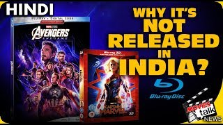 Avengers Endgame Blu-Ray Not Released In India? [Explained In Hindi]