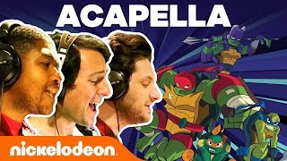Rise of the TMNT A Cappella Theme Song 🎵 | Nick