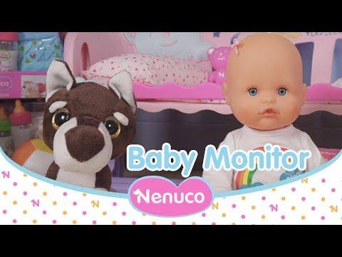 Nenuco Dort avec moi: de quoi a-t-il besoin ? Le baby monitor le sait !