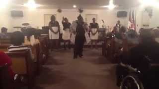 "The Anointed Vessels of Collins, MS singing ""It Will Come to Pass"""