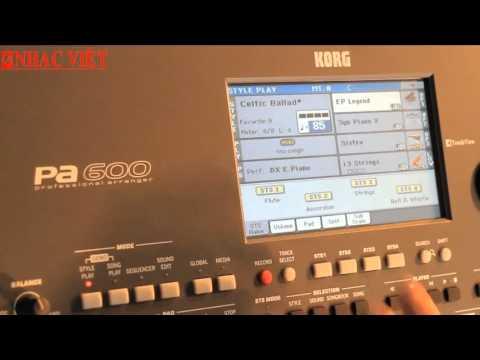Bộ Style Slow Rock mới cho Korg PA