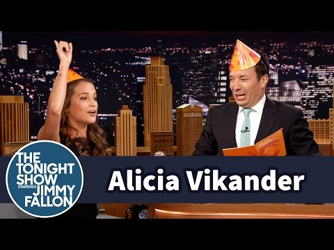 Alicia Vikander Celebrates Sweden's Midsummer Holiday with Jimmy