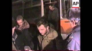 RUSSIA: CHECHNYA: RELEASE OF RUSSIAN PRISONERS