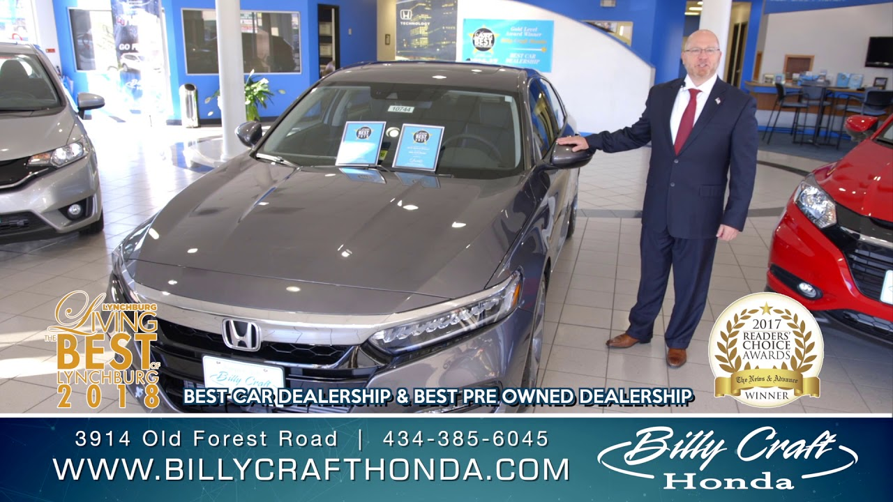Than you lynchburg 2018 billy craft honda lynchburg for Billy craft honda lynchburg
