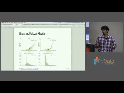 Pavan Ramkumar | Pyglmnet: A Python package for elastic net regularized generalized linear model
