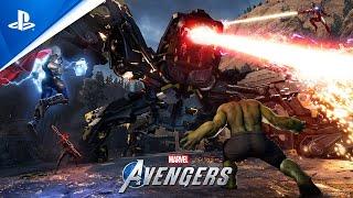 """『Marvel's Avengers (アベンジャーズ)』:""""ウォーゾーン""""協力プレイトレーラー"""