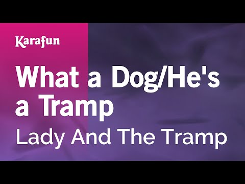 Karaoke What A Dog / He's A Tramp - Lady And The Tramp *