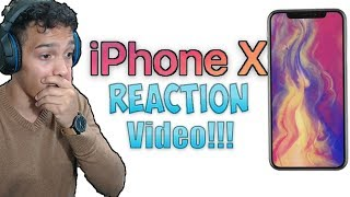 iPhone X Trailer: Reaction Video!!