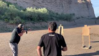 Keith Garcia Shoots Drills with POF's New DI Revolution in .308