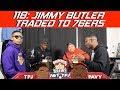 118: Jimmy Butler Trade Initial Reaction | Hoops N Brews