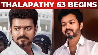 OFFICIAL: Thalapathy 63 Pakka Mass Family Entertainer | Vijay | Atlee | AR Rahman