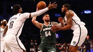Milwaukee Bucks vs Brooklyn Nets Full Game Highlights | October 8