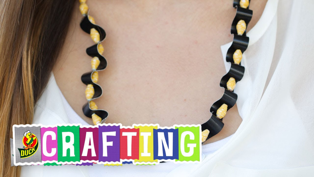 necklace a duct easy tape diy mich in l
