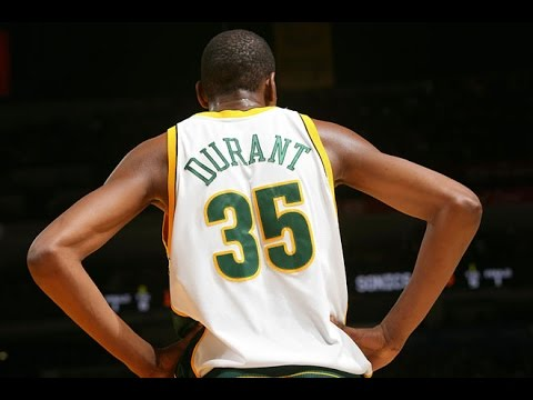 Kevin Durant Full Highlights 2007.12.07 vs Bucks - Rookie KD with 35 Pts, 5 Blocks