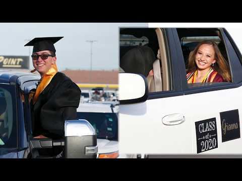 Faith Lutheran High School Graduation on a RACE TRACK!!