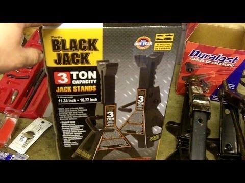 Black Jack 3 Ton Capacity Jack Stands Review