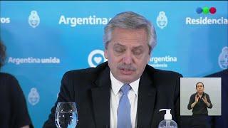 Alberto Fernández anunció las novedades de la tercera etapa de la cuarentena