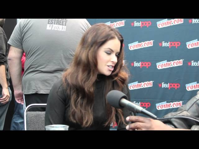 Syfy's 12 Monkeys at New York Comic Con 2014: Interview with Emily Hampshire