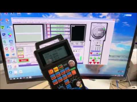 MK4-ET XHC 4 Axis Mach3 Ethernet cnc Control Wireless cnc handwheel
