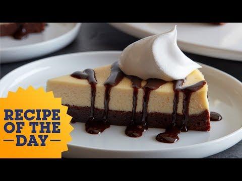 Chocolate Brownie Bottom Cheesecake | Food Network