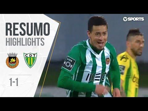 Highlights | Resumo: Rio Ave 1-1 Tondela (Liga 17/18 #30)