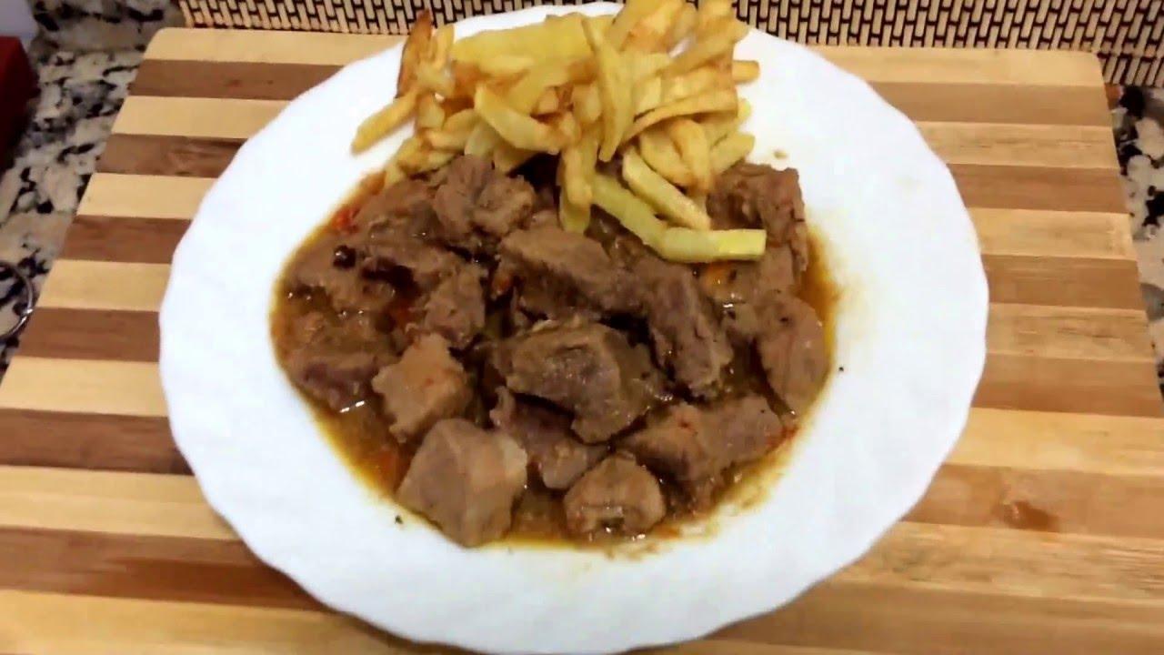 Caldereta de cerdo receta de cocina espa ola youtube - Recets de cocina ...