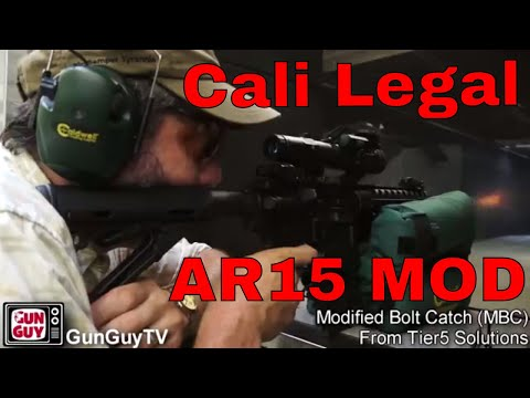 One more way to keep your AR15 legal in California